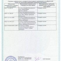 Сертификат на установку для монтажа эковаты УЭМ-650, стр2