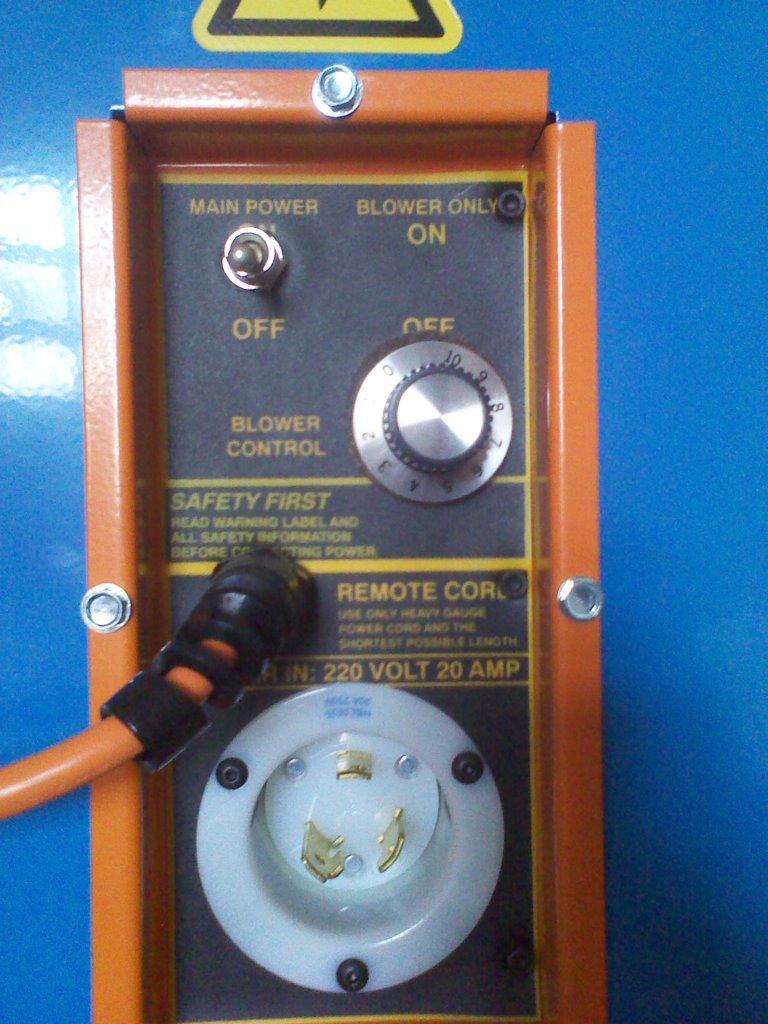 Панель управления выдувной установки для эковаты Accu1 9218